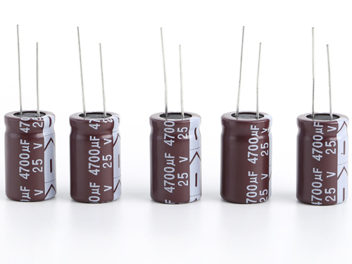 Low impedance and long life electrolytic capacitors