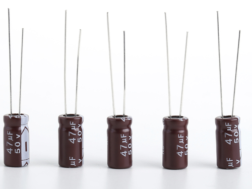 Low impedance and long life electrolytic capacitors production