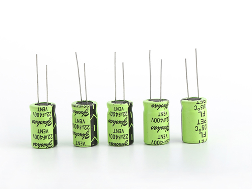 Long life electrolytic capacitors
